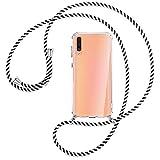 mtb more energy® Cadena de teléfono móvil Compatible con Samsung Galaxy A. / M.2019 Serie – Tamaño + Color variación – Funda para Smartphone para Colgar
