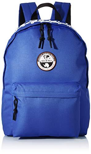 Napapijri Happy Daypack RE Rucksack, 42 cm, 20 Liter, Ultramarine Blu