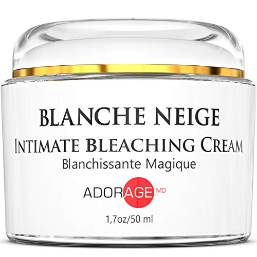 Natural Intimate Parts Brightening Fade Cream, Armpit, Bikini, Thigh, Knees & Elbows, Body Sensitive Private Areas Skin, Face Dark Spots Remover for Women & Men, Made in USA