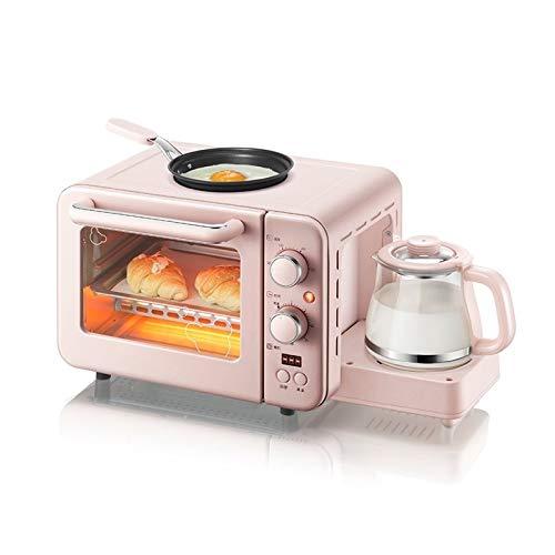 SQS-MBJJJJ Multifunctionele 3 in 1 ontbijt machine 8L elektrische mini Oven Koffiezetapparaat eieren koekenpan huishouden brood pizza-oven grill
