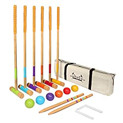 Croquet Set. A cool backyard game for family
