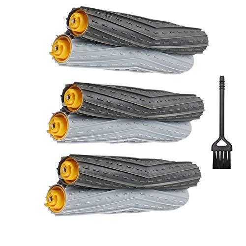 IUCVOXCVB Accesorios de aspiradora 3sset Principal Center Brush Fit para Irobot Fit para Roomba 800 900 Series 860 865 866 870 871 880 885 886 890 900 960 966 980 Robot Aspirador
