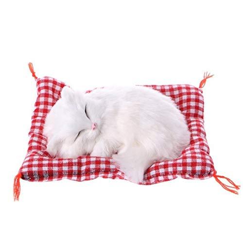 Lltkkk PC 1 Gatitos Lindos de los Gatos de Dibujos Animados de Coches Adornos Dormir Lindo Simulación Gatos Decoración Automóviles Felpa Encantadora Nave de la Gota (Color Name : E)