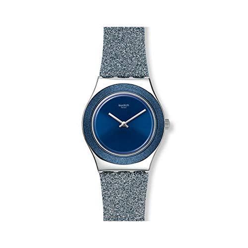 Reloj Swatch Irony Medium YLS221 Blue Sparkle