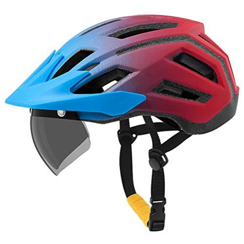 Leikance Fahrradhelm, Motorradhelm für Herren und Damen, Sonnenblende, Fahrradzubehör