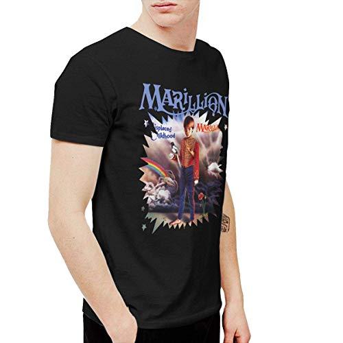 GFHDG AlexisW Marillion Misplaced Childhood Men's Tshirt Black