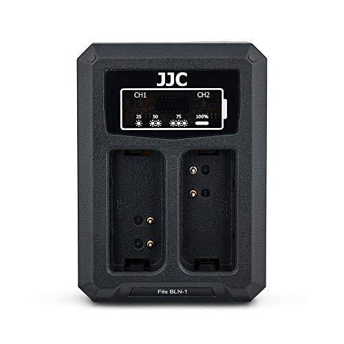 JJC Compatible con Olympus Pen-F, E-P5, E-M1, E-M5, E-M5 Mark II Cámaras...