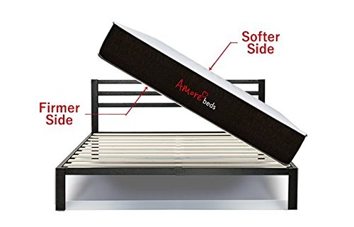 """Amore Beds Copper-Ion Infused 11"""" Flippable 10-Layer Best 2-Sided Mattress (Full)"""
