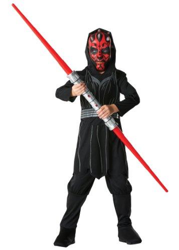 Rubies - Máscara para disfraz infantil Darth Maul Star Wars (881887S) (Para 3-4 Años)
