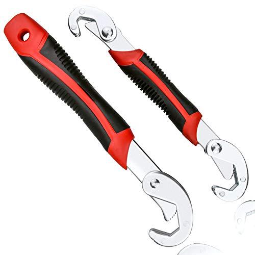 Juego de 2 llaves inglesas ajustables, multifunción, 6-32 mm