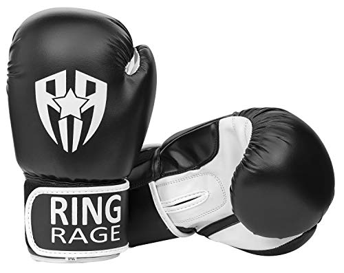 RING RAGE Pro Grade Kickboxing, Training, Boxing Gloves, Sparring Training Gloves, Muay...