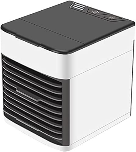 X&Y 3 en 1 Aire Acondicionado portátil Mini Aire Acondicionado Móvil Silent Silent Air Cooler 600ML 12W 3 Velocidad Portátil Air Acondicionador de Aire para la Oficina en casa Camping