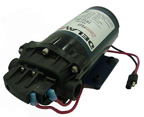 Delavan 7812-201-SB Series Diaphragm Pump 12V, 60 PSI, 2.0 GPM, Demand Pump W/ 3/8' FNPT Ports