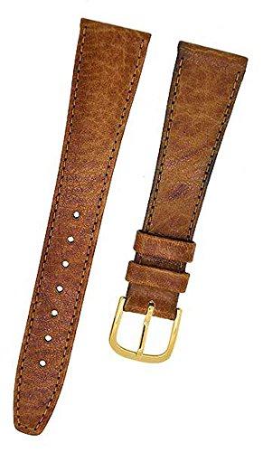 FORTIS Swiss Uhrenarmband LEDER braun mit brauner Naht 16mm NEU 9117