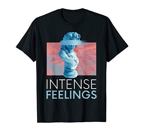 Emotional Vaporwave Design. Griechische Marmorstatue T-Shirt