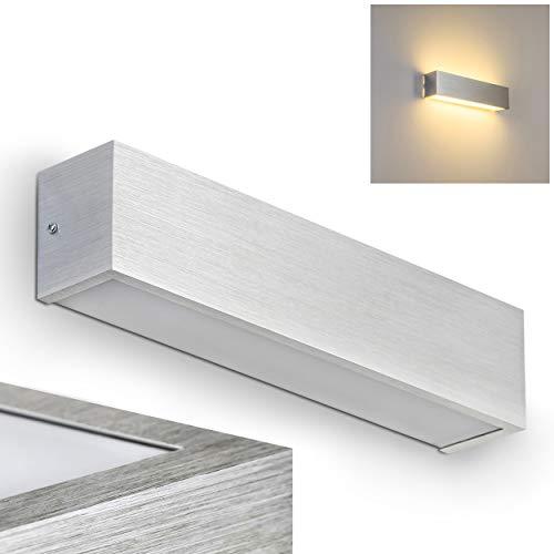 Applique murale LED Olbia en aluminium 12 Watt - 840 Lumen - 3000 Kelvin