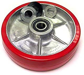 Multiton TM,M,J Heavy Duty Steer Wheel Assembly with Bearings