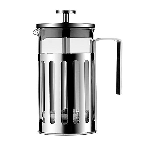 Great Features Of XXDMZ Stainless Steel French Press Coffee Espresso Maker Coffee Kettle Pot Barista...