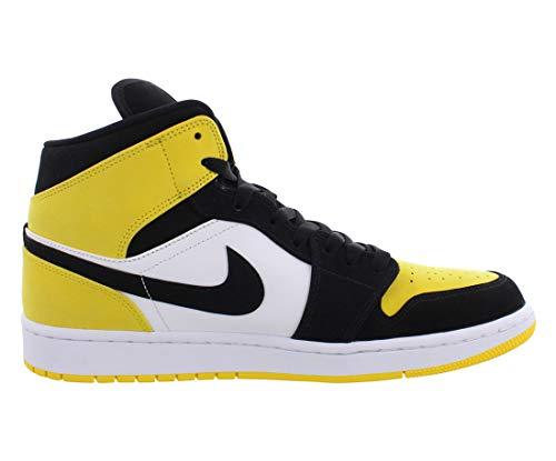 Jordan Air 1 Mid Se (Black/Black-Tour Yellow 13)