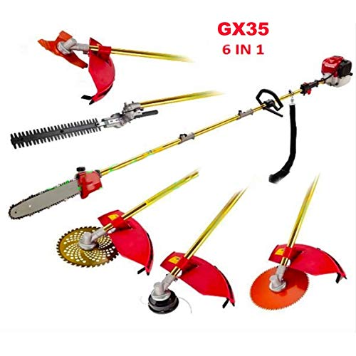 Why Should You Buy jat GX35 Motor Gasoline Hedge Trimmer 6 in 1 Brush Cutter,Pole Saws,Pole Trimmer ...