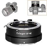 Fringer EF-NZ Anillo adaptador de enfoque automático compatible con lentes Canon EF a Nikon Z Mount Z5 Z6 Z7 Z50 adaptadores de cámaras