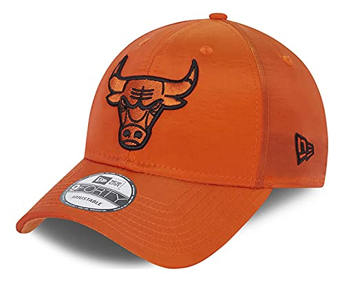 New Era - Gorra NBA Chicago Bulls Hypertone 9Forty Snapback - Naranja naranja Talla única