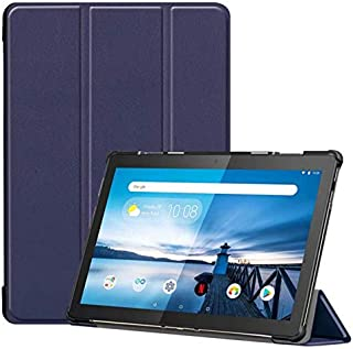 For Lenovo Tab M10 case 10.1Inch TB-X605F TB-X605L Slim PU Leather Magnetic Shockproof Hard Cover