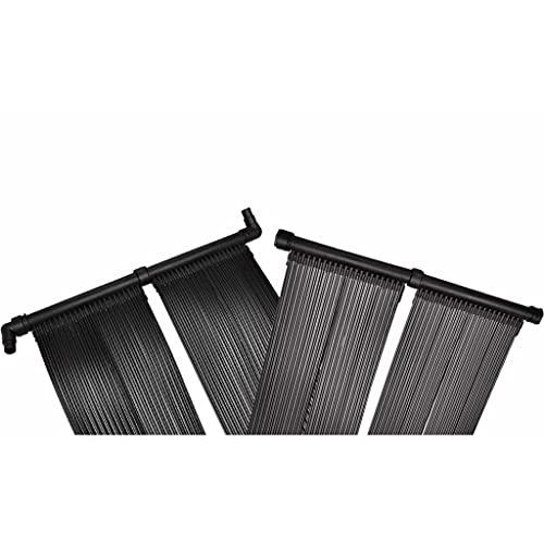 vidaXL Panneau de Chauffage Solaire Piscine 80x620 cm PVC Système de Chauffage