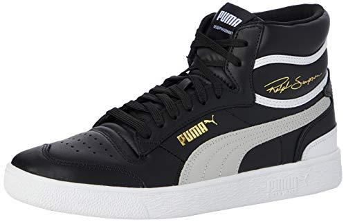 PUMA Unisex-Erwachsene Ralph Sampson MID Sneaker, Schwarz (Puma Black-Gray Violet-Puma White), 46 EU