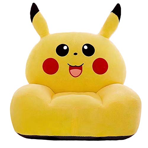 AXHSYZM Kids Sofa Chair Armchairs Toy Seat Pikachu Soft Flannel