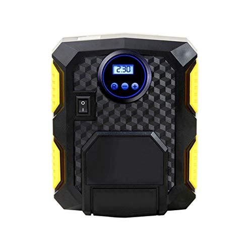 TWDYC Bomba de compresor de Aire portátil 150 PSI Inflador de neumáticos Digitales DC 12 voltios Auto Coche Compresor de Aire para Motocicletas de automóviles Bicicletas