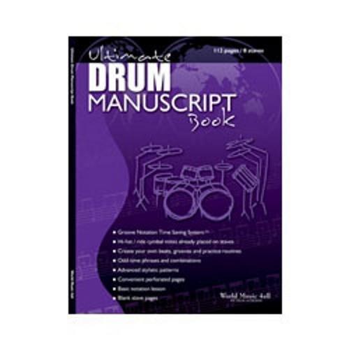 World Music 4all Ultimate Drum Manuscript Book