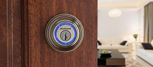 Kwikset - Kevo 99250-202 Kevo 2nd Gen Bluetooth Touch-to-Open Smart Keyless Entry Electronic...
