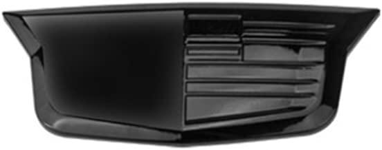 Eppar New Decorative Front Rear Logo Cover for CADILLAC XTS 2013-2017 (Rear Logo, Black)
