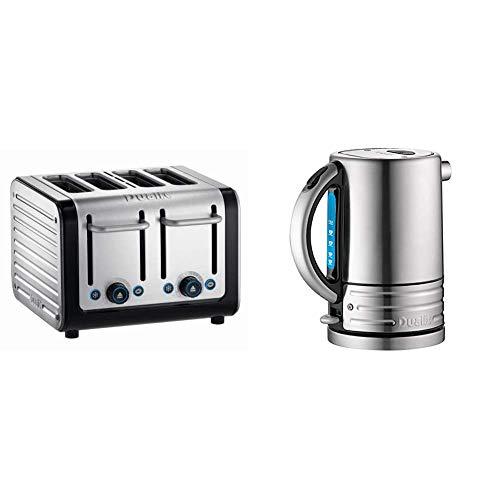 Dualit 4 Slot Architect Toaster & 72905 Architect Kettle