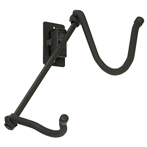 String Swing Saxophone Hanger - Wall Mount Holder for Alto or Tenor Sax - Stand Accessories Home or Band Room Studio Wall - Musical Instruments Safe without Hard Cases - Made in USA