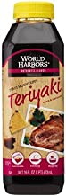 World Harbors Maui Mountain Teriyaki Sauce & Marinade, 16-Ounce Bottle, (Pack of 6)