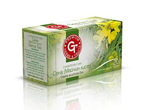 (4 Pack) Senna Tea Fruit & Leaves 30g Natürliches Abführmittel | BteaCo für Kuker Detox Tea 20 Teebeutel | Eingesackter Tee | Natürliche diätetische Darmreinigung | Weight Loss Aid | Koffeinfrei