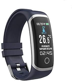 QLKJ Reloj Inteligente Pulsómetro Mujer Hombre niños Monitor de Sueño 15 Días Batería Larga Vida
