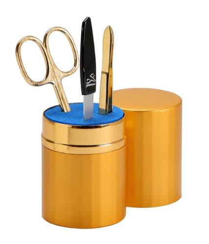 Premax E90310003D Kit Manucure Doré 3 pcs.