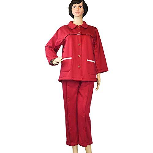 NEE Weiblich Patientenpflegekleidung Einfach Zu Tragen Gesundheit Pflegekleidung...