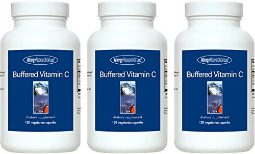 Allergy Research Group - Buffered Vitamin C - 120 Capsules - 3 Pack Allergy Research Group Magnesium