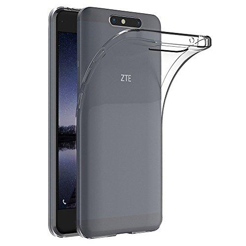 MaiJin Hülle für ZTE Blade V8 (5,2 Zoll) Crystal Clear Durchsichtige Backcover Handyhülle TPU Case