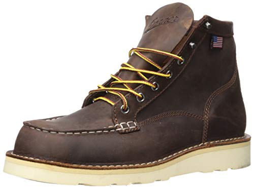 "Danner Men's Bull Run Moc Toe 6"", Brown, 11 D - Medium"