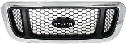 Koolzap For 04-05 手数料無料 Ranger Pickup Grille Grill セール商品 Chro Truck Assembly