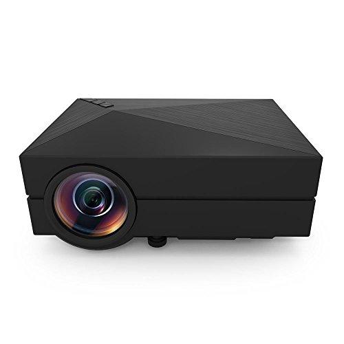 Taotaole Mini LED Projector LCD 1000 Lumens Multimedia Beamer Portable Home Theatre Projectors
