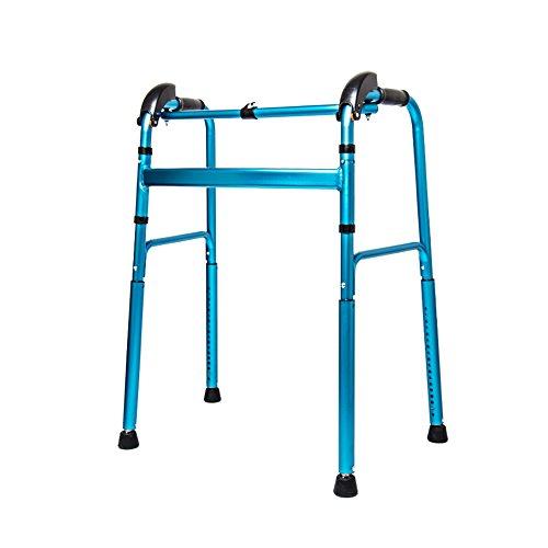NYDZ Silla de Ruedas Andador Andador con Soporte Marco de Andar para Personas Mayores Subir y Bajar escaleras Andador
