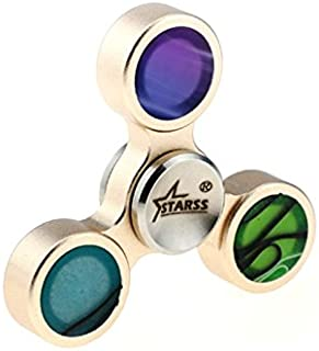 Starss Aluminum Acrylic Fidget Spinner with Fast Detachable R188 Bearing Fingertip Decompression