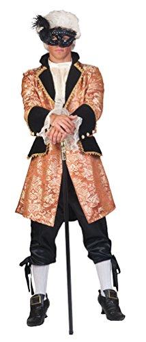 Karneval-Klamotten Rokoko Kostüm Herren Barock Kostüm Karneval Renaissance Herren-Kostüm Größe...