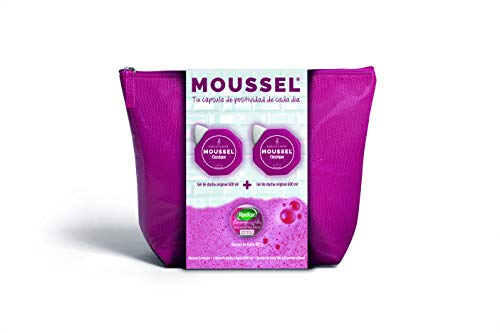 MOUSSEL Neceser Classique - Gel 2x600 ml + Bomba Baño 100 ml
